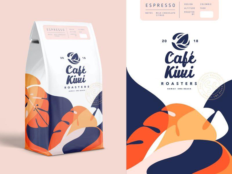 Branding Café Kiwi